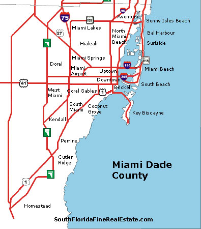 South Florida MLS Search Maps Miami Fort Lauderdale and West Palm