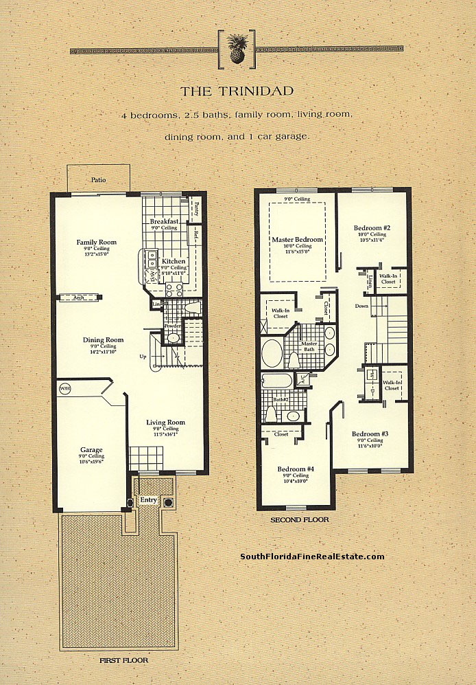 Engle homes floor plans florida for Floor plans florida